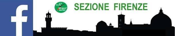 Pagina FB dell' Associazione Nazionale Alpini Sezione Firenze